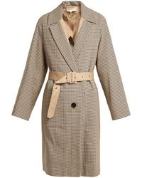 Vanessa Bruno - Iambo Checked Cotton Coat - Lyst
