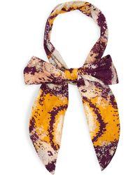 House of Lafayette - Lexi Side Tie Headband - Lyst