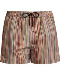 cb01dc6128 Paul Smith - Signature Stripe Swim Shorts - Lyst