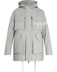 Neil Barrett - Technical Reflective-detail Coat - Lyst