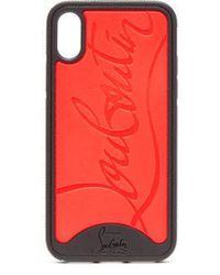 Christian Louboutin - Loubiphone Rubber Iphone® X Case - Lyst