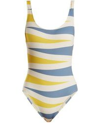 Solid & Striped - The Anne-marie Backgammon-print Swimsuit - Lyst