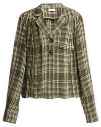 Wales Bonner - Checked Long-sleeved Jacket - Lyst