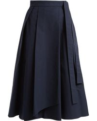 Weekend by Maxmara - Valda Wrap Skirt - Lyst
