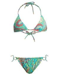 Etro - Abstract Paisley-print Bikini - Lyst