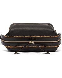 Proenza Schouler Pebbled Leather Belt Bag - Black