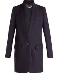 Stella McCartney - Bryce Single-breasted Wool-blend Coat - Lyst