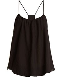 Loup Charmant - Scoop Cotton Lawn Cami Top - Lyst