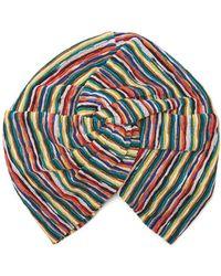 Missoni - Riga Striped Knit Turban Hat - Lyst