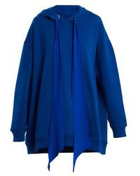 Givenchy - Oversized Hooded Cotton Sweatshirt - Lyst