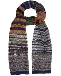 Missoni - Diamond-laddered Knitted Scarf - Lyst