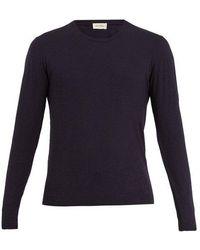 American Vintage - Jacksonville V-neck Cotton-blend T-shirt - Lyst