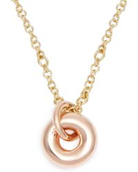 Spinelli Kilcollin - Nebula 18kt Rose Gold Pendant Necklace - Lyst