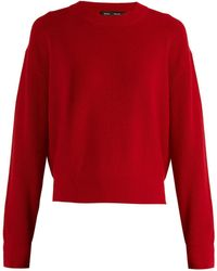 Proenza Schouler - Zip-detail Wool And Cashmere-blend Knit Jumper - Lyst