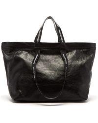 Balenciaga - Carry Shopper M Leather Bag - Lyst