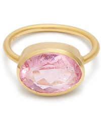 Irene Neuwirth - Tourmaline & Rose-gold Ring - Lyst