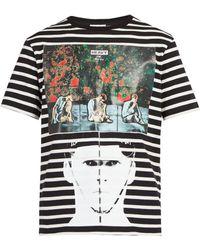 JW Anderson - X Gilbert & George Print Striped T Shirt - Lyst