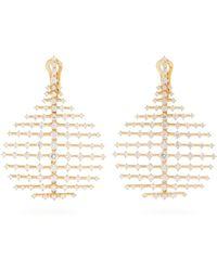 Fernando Jorge | Diamond & Yellow-gold Disco Earrings | Lyst
