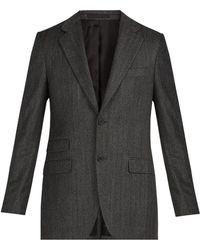 Stella McCartney - Herringbone Wool Jacket - Lyst