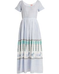 Le Sirenuse | Nola Horse And Palms Maxi Dress | Lyst