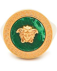 Versace - Tribute Signet Ring - Lyst
