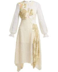 Preen By Thornton Bregazzi - Cara Sequin-embellished Lace Dress - Lyst