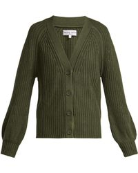 Apiece Apart - Gerrit Cotton And Cashmere Blend V Neck Cardigan - Lyst