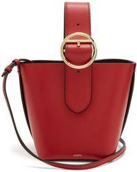 JOSEPH - Sevres Mini Buckle-handle Leather Bag - Lyst
