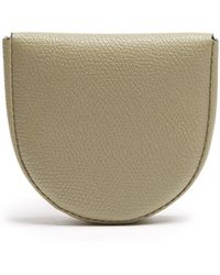 Valextra - Grained-leather Coin Purse - Lyst