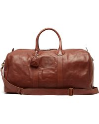 Polo Ralph Lauren - Heritage Leather Weekend Bag - Lyst