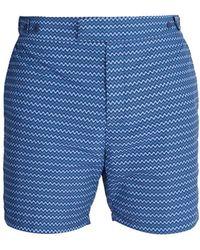 Frescobol Carioca - Tailored Copacabana-print Swim Shorts - Lyst