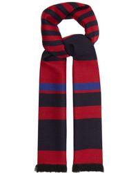 Bottega Veneta - Striped Wool Scarf - Lyst
