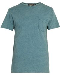 RRL - Slubbed Cotton T-shirt - Lyst