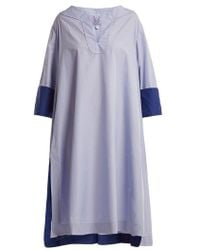 Thierry Colson - Samia Cotton Poplin Cover Up - Lyst