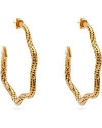 Aurelie Bidermann - Tao Hoop Earrings - Lyst