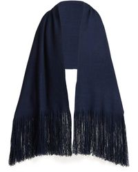 Denis Colomb - Fringed Cashmere Shawl - Lyst