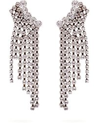Isabel Marant - Strass Crystal-embellished Cascade Earrings - Lyst
