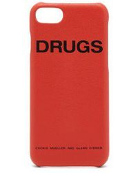 Raf Simons - Leather Iphone® 7/8 Case - Lyst