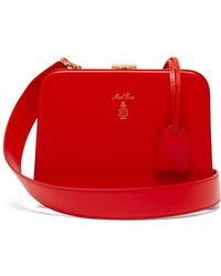 Mark Cross Juliana Leather Cross Body Bag