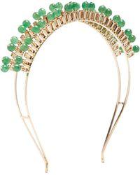 Rosantica By Michela Panero - Cleopatra Gold-tone Quartz Headband - Lyst