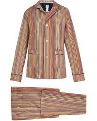 Paul Smith - Striped Pyjama Set - Lyst