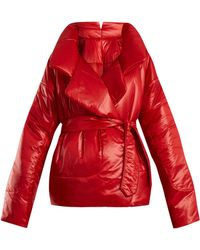 Norma Kamali - Sleeping Bag Short Coat - Lyst
