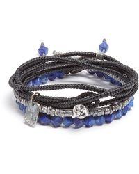 M. Cohen - Ensemble de trois bracelets en argent et lapis - Lyst