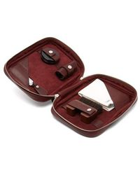 John Lobb - Shoe Care Leather Travel Case - Lyst