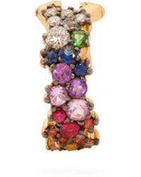 Ana Khouri - Mirian 18kt Gold, Sapphire And Diamond Ear Cuff - Lyst