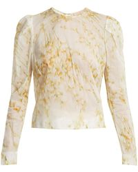Brock Collection - Babette Sweet Pea Print Blouse - Lyst