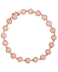 Irene Neuwirth - Pink Opal & Rose Gold Bracelet - Lyst