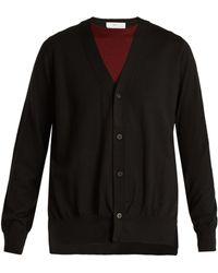 Toga - Layered V Neck Wool Cardigan - Lyst