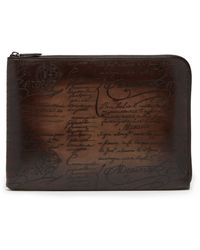 Berluti - Nino Scritto Leather Document Holder - Lyst