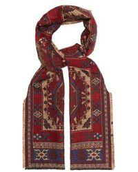 Etro - - Micro Paisley Jacquard Silk Tie - Mens - Multi - Lyst